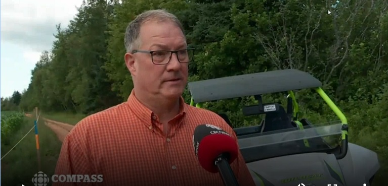CBC Compass Interview on ATV Crossings