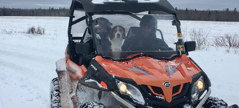 Winter ATV Tourism on PEI